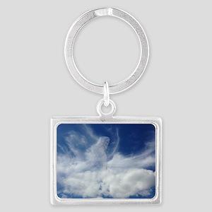 Jesus in Clouds Keychains