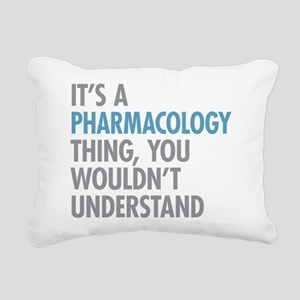 Pharmacology Thing Rectangular Canvas Pillow