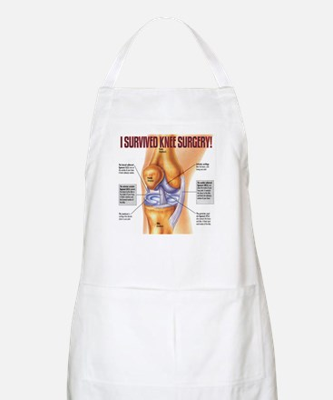 Knee Surgery Gift 1 BBQ Apron