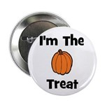 I'm The Treat (pumpkin) Button