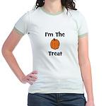 I'm The Treat (pumpkin) Jr. Ringer T-Shirt