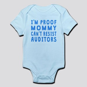 Proof Mommy Cant Resist Auditors Body Suit