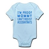 Funny accountant Bodysuits
