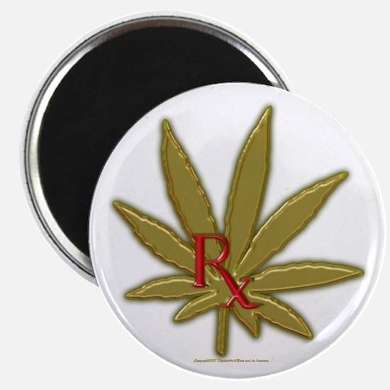 "Rx Marijuana 2.25"" Magnet (10 pack)"