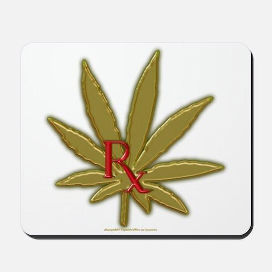 Rx Marijuana Mousepad