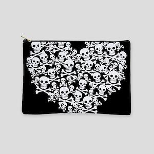 skullheart_sq Makeup Bag