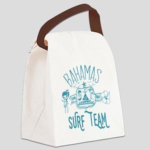 Bahamas Surf Team Canvas Lunch Bag