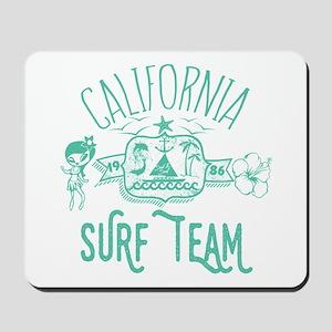 California Surf Team Mousepad