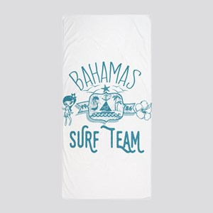Bahamas Surf Team Beach Towel