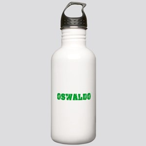 Oswaldo Name Weathered Stainless Water Bottle 1.0L