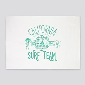 California Surf Team 5'x7'Area Rug