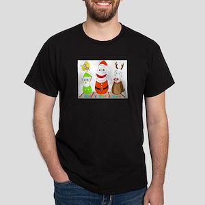 micchiee / bowling pin family / christmas T-Shirt