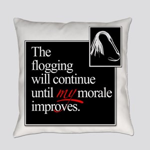 Flog Morale Square Everyday Pillow