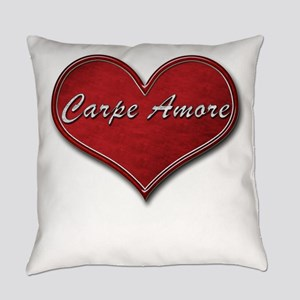 Carpe Amore Square Everyday Pillow