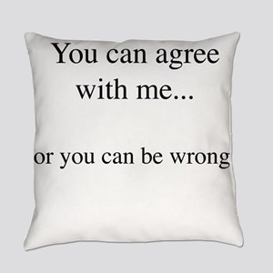 Agree for Light Everyday Pillow