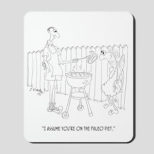 Diet Cartoon 9272 Mousepad
