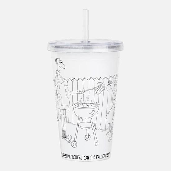 Diet Cartoon 9272 Acrylic Double-wall Tumbler