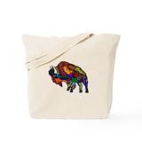 American bison Canvas Tote Bag