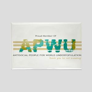 APWU Rectangle Magnet