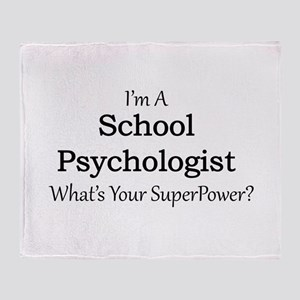 School Psychologist Throw Blanket