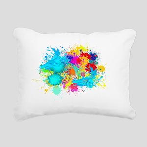 Splat Cluster Rectangular Canvas Pillow