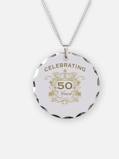 50th Wedding Anniversary Necklace