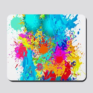 Splat Vertical Mousepad