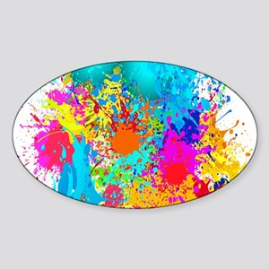 Splat Vertical Sticker