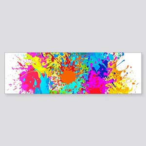 Splat Vertical Bumper Sticker