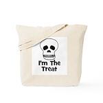 I'm The Treat (skull) Tote Bag