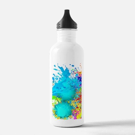 Splat Cluster Water Bottle