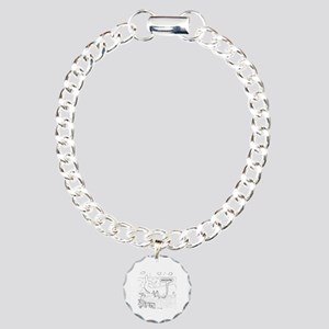 Whale Cartoon 9283 Charm Bracelet, One Charm