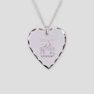 Migraine Cartoon 9280 Necklace Heart Charm