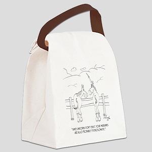Migraine Cartoon 9280 Canvas Lunch Bag