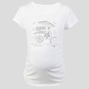 Food Cartoon 9270 Maternity T-Shirt