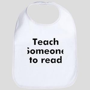 Teach Someone to read Bib