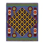 Praise For Maize Indian Throw Blanket