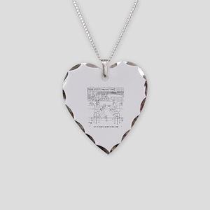 Literature Cartoon 9267 Necklace Heart Charm
