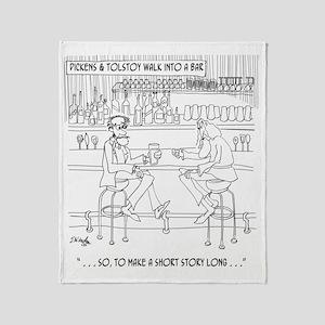Literature Cartoon 9267 Throw Blanket