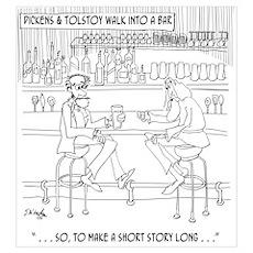 Literature Cartoon 9267 Poster