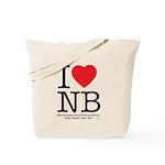 I Heart NB Tote Bag