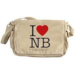 I Heart NB Messenger Bag