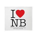 I Heart NB Throw Blanket