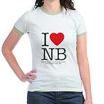 I Heart NB Jr. Ringer T-Shirt