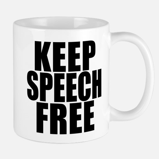 Keep Speech Free Mug