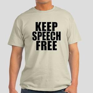 Keep Speech Free Light T-Shirt