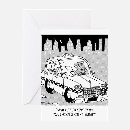 Habitat Cartoon 4911 Greeting Card