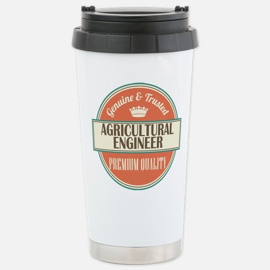 Agricultural Engineer Stainless Steel Travel Mug