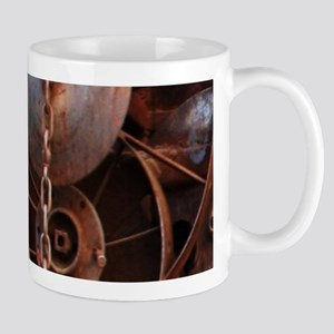 grunge Mechanical Gears rustic Mugs