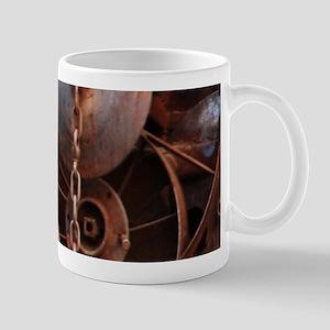 grunge Mechanical Gears rustic Mugs